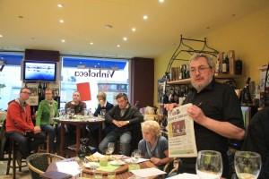 PCN - Portugals Zeitschriften und Wein 30.5.2015  Foto Gerd Klinkhardt