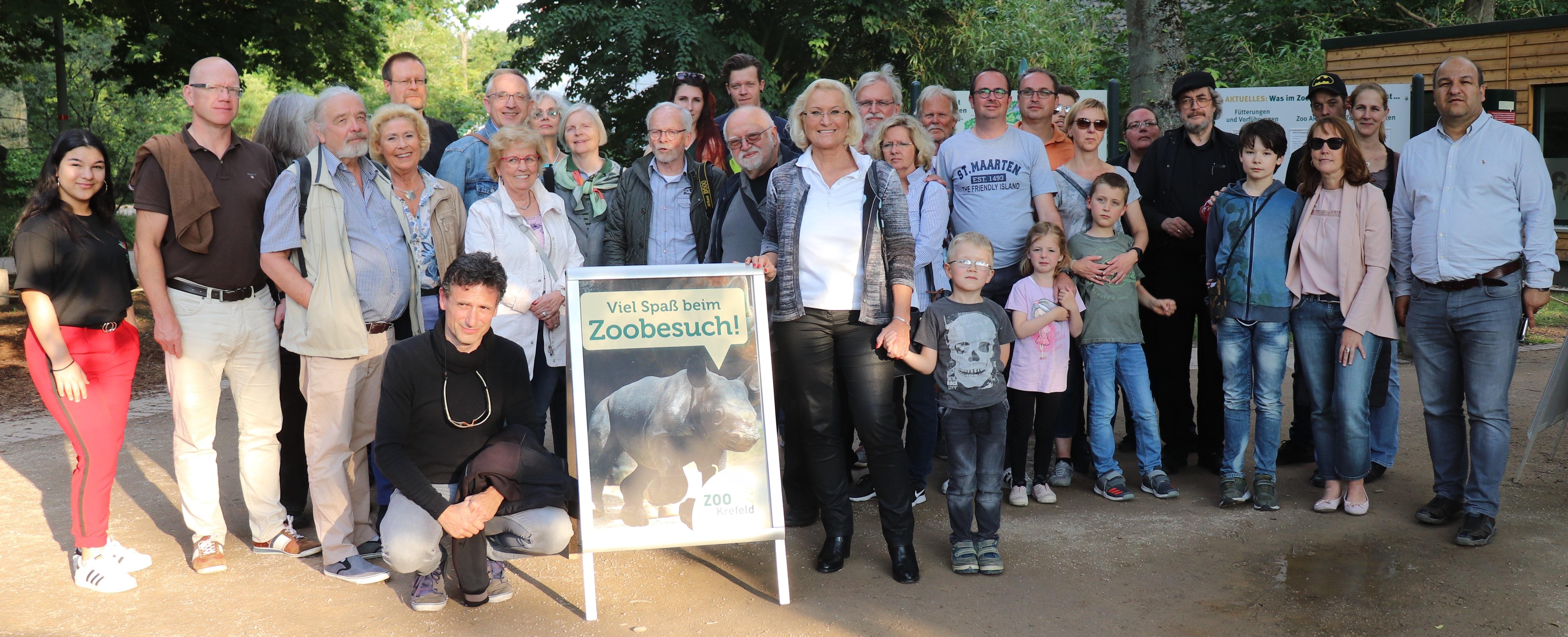 Weitere Fotos der Nacht-Safari in den Krefelder Zoo