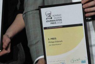 Start der Bewerbungsphase für den Konrad-Duden-Journalistenpreis: Für Nachwuchsjournalisten